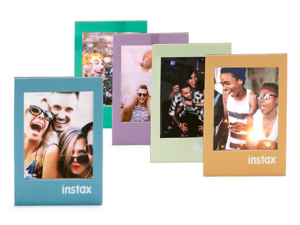 Instax Frame Magnetic 5 Pack Bright Pastel 1