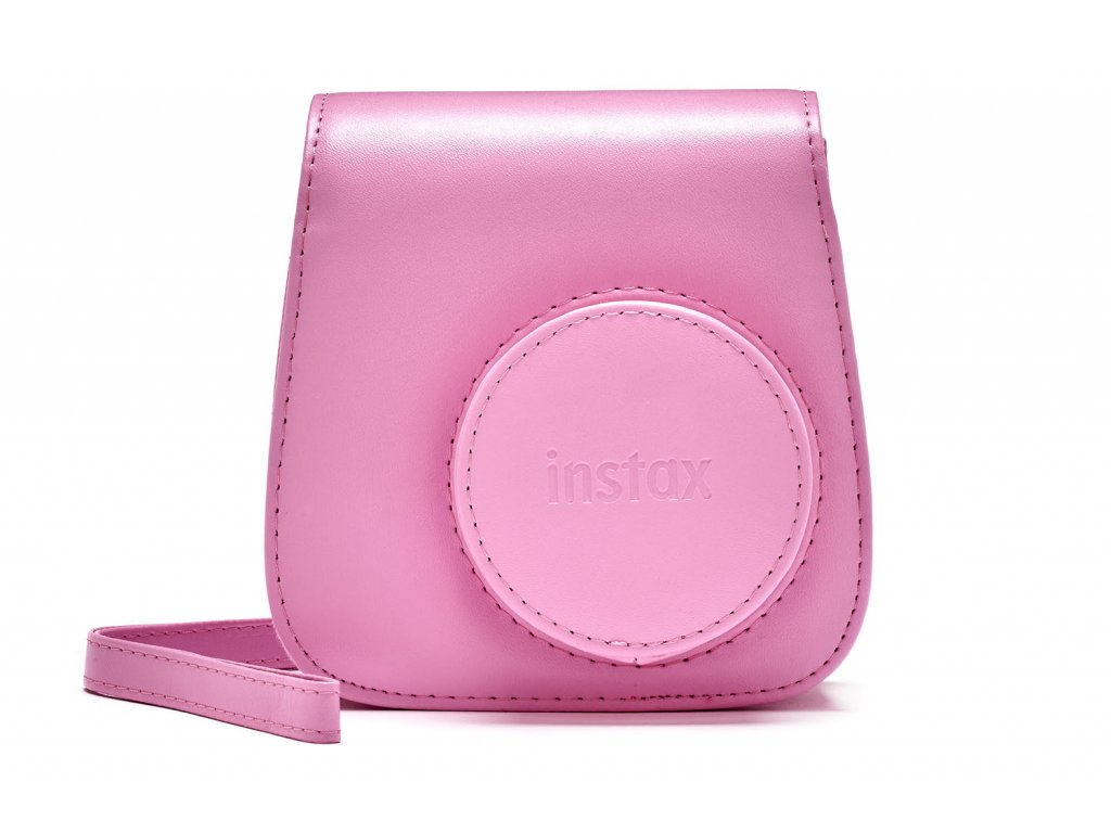 Fujifilm Instax Mini 9 Case Leather Blush Rose