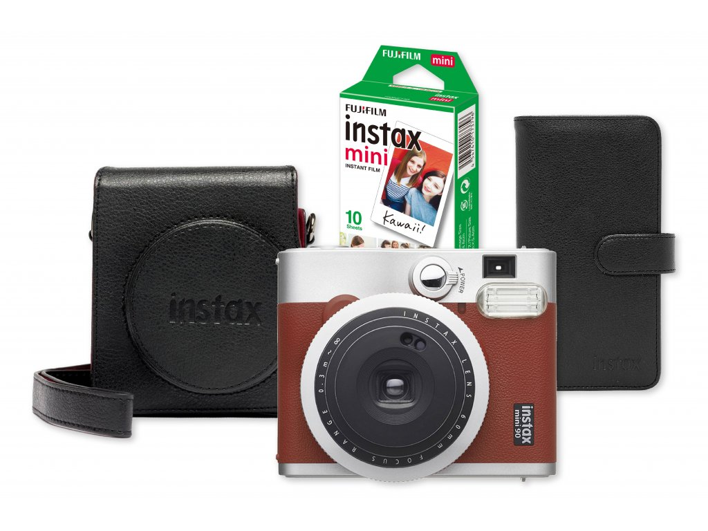 Fujifilm Instax Mini 90 Red Bundle