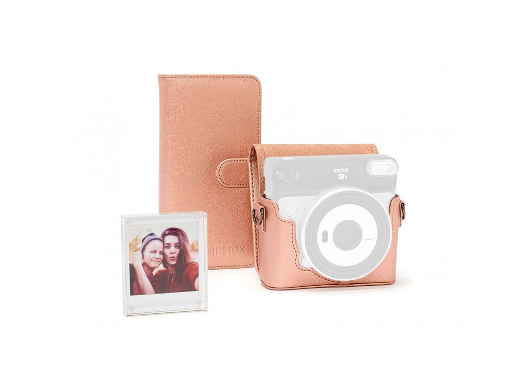 Fujifilm Instax Square SQ 6 Accessory Kit Blush Gold