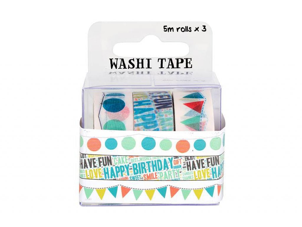 Fujifilm Instax Washi Tape 3 Roll Celebration