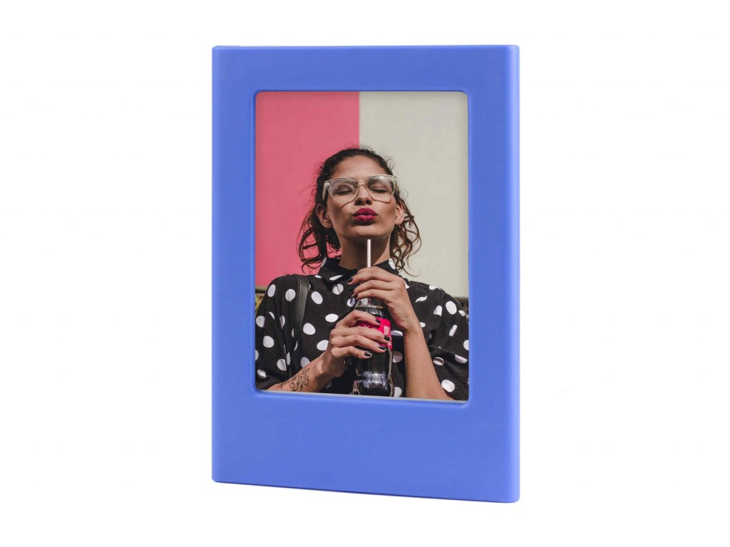 Instax Mini Magnet Photo Frame Cobalt Blue