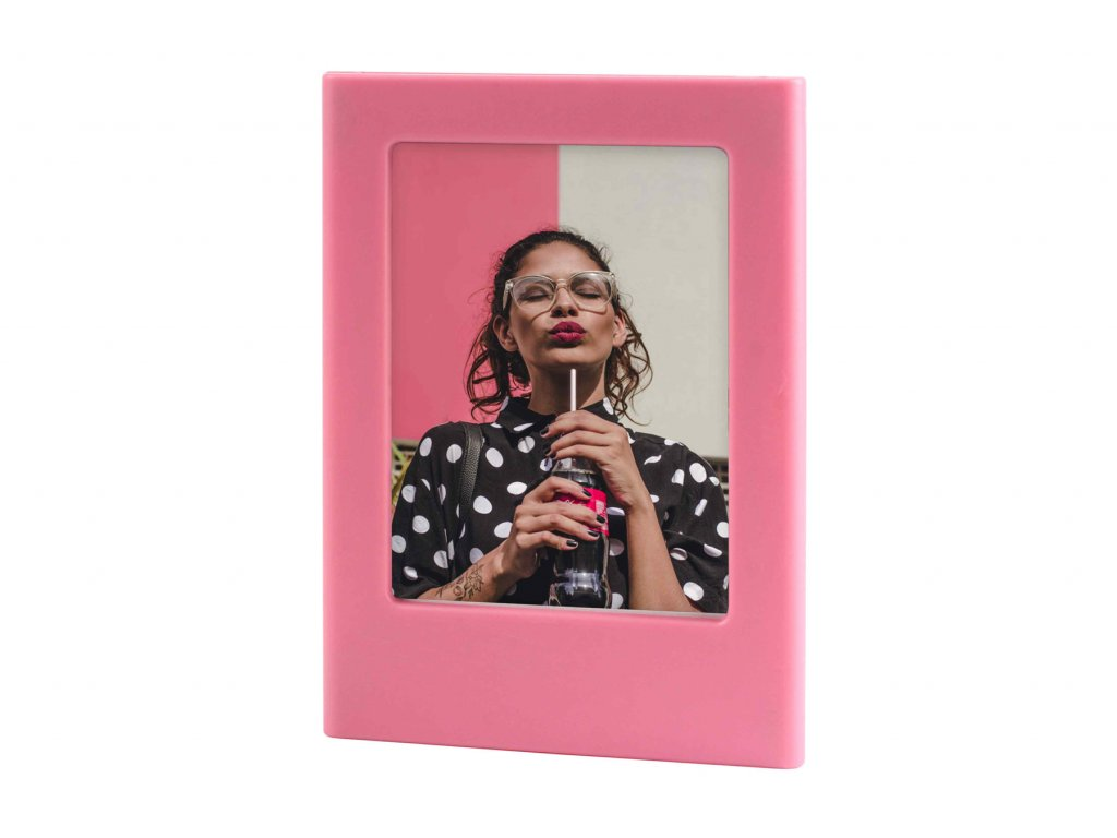 Instax Mini Magnet Photo Frame Flamingo Pink