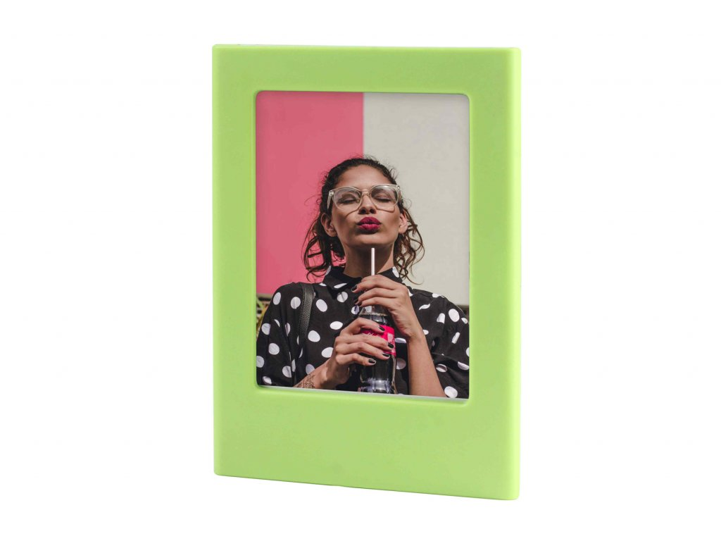 Instax Mini Magnet Photo Frame Lime Green