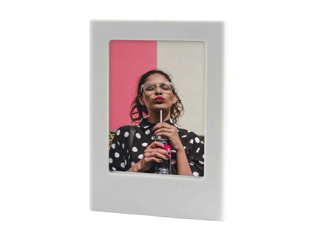 Instax Mini Magnet Photo Frame Smoky White