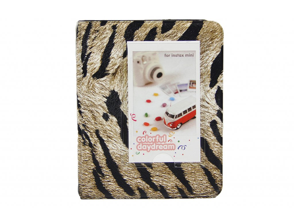 2034 1 instax mini pocket album animal tiger