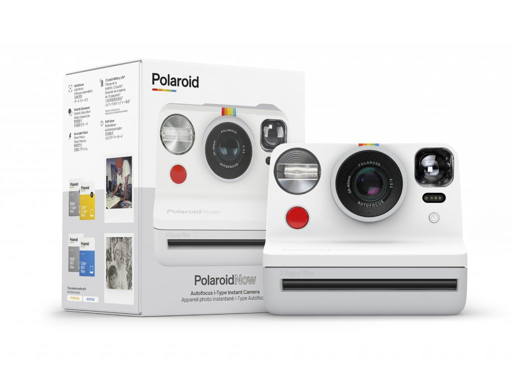Polaroid Now White