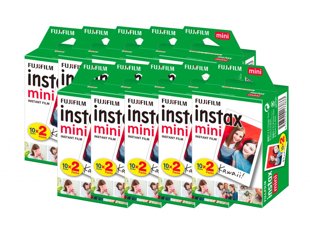Fujifilm Instax Mini film 10x20ks
