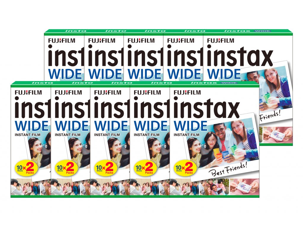 Fujifilm Instax Wide film 10x20ks