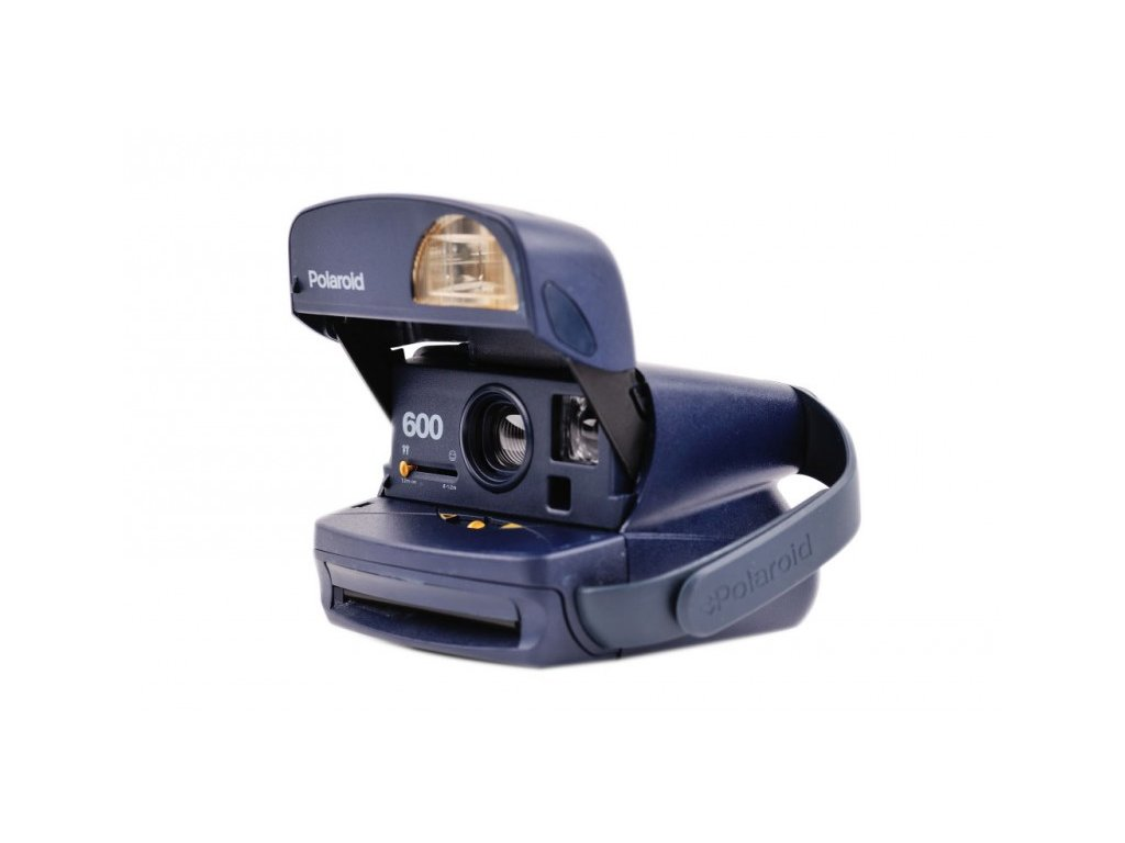 Polaroid 600 Dark Blue