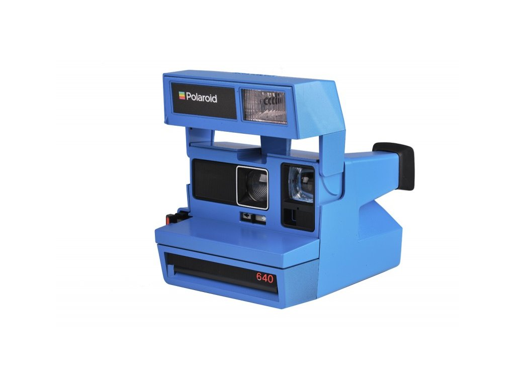 Polaroid 600 Limited edition BLUE