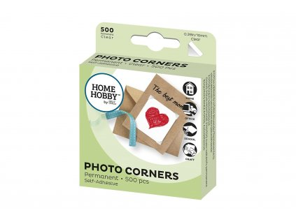 3L Photo Corners Clear 500 ks