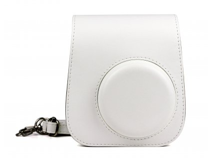 2621 fujifilm instax mini 11 case leather ice white