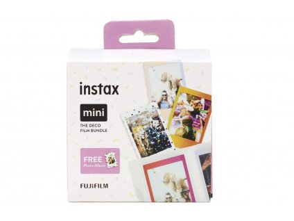 Fujifilm Instax Mini Deco film Bundle