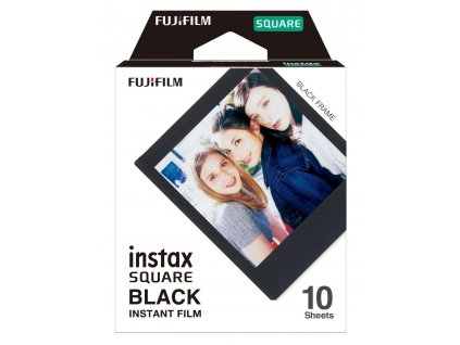 Fujifilm Instax Square film 10ks Black
