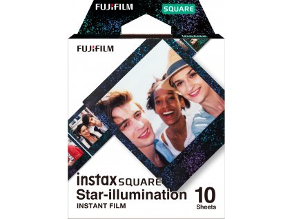 Fujifilm Instax Square film 10ks Star-illumination