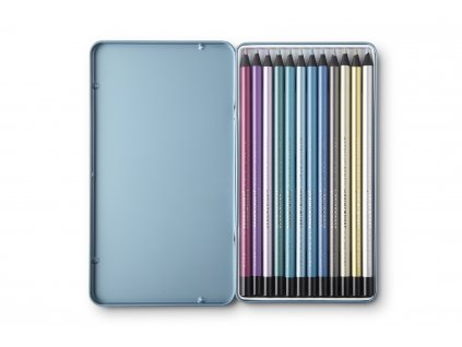2270 2 printworks color pencils metallic 12pcs set