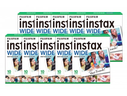 Fujifilm Instax Wide film 10x10ks
