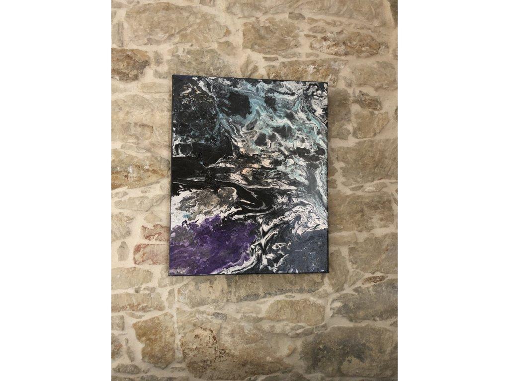 Akryl na plátně 50x40 cm