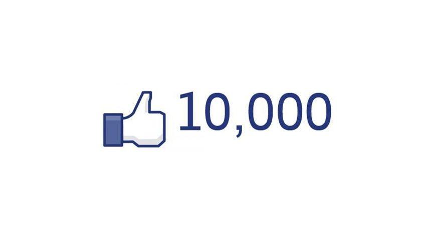 SLEVA 10 % - poděkování za 10 000 fanoušků na FB