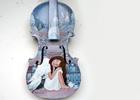 Malované housle