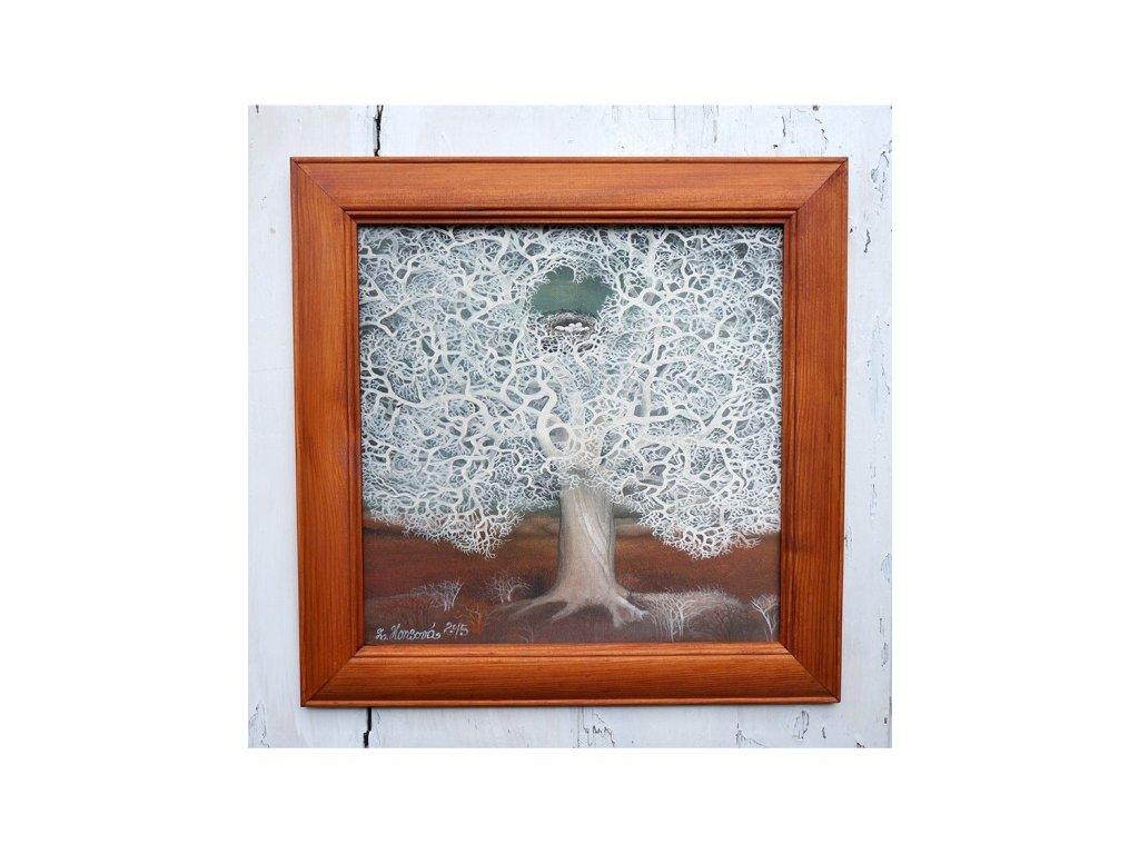 Sleva Krajkový strom s hnízdem