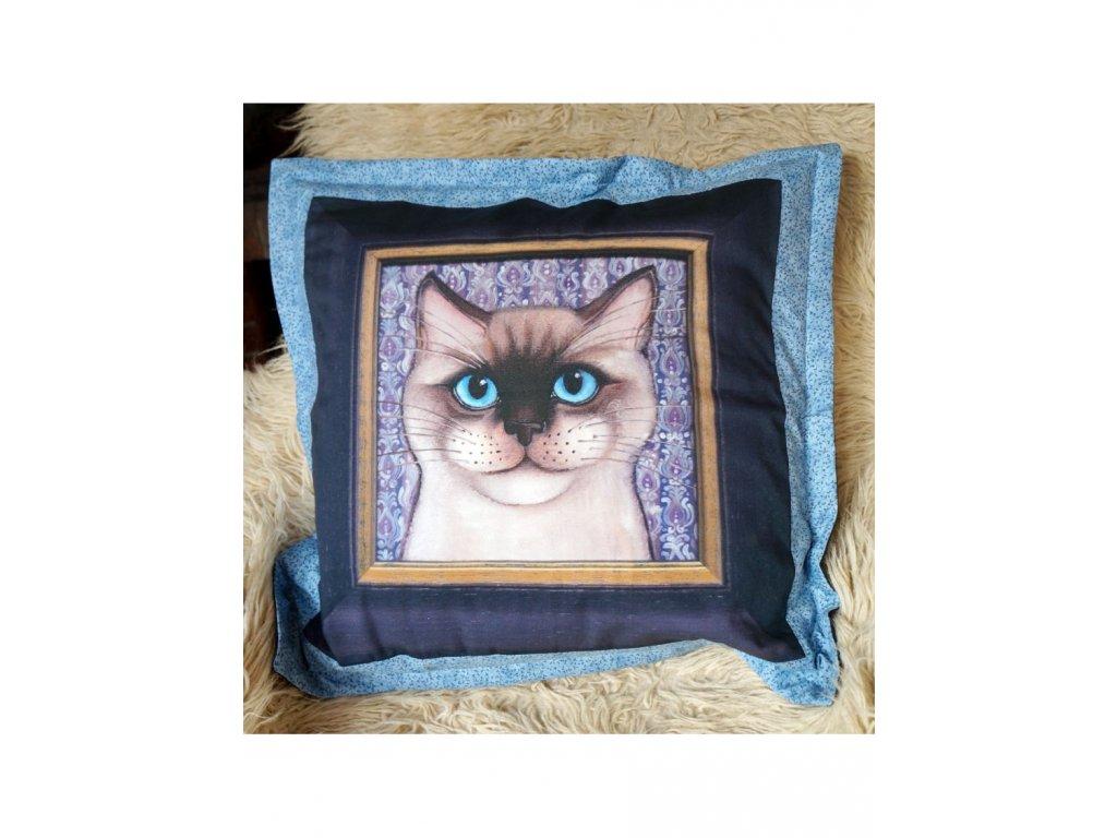 Damián - polštář 50 x 50 cm bavlna