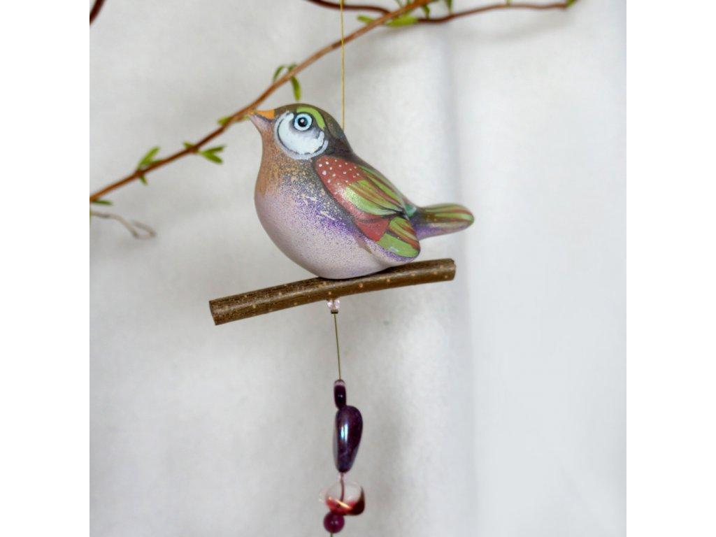 Malovaný ptáček