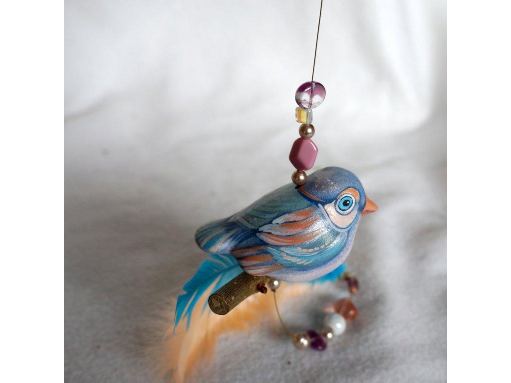 Malované ptáčátko
