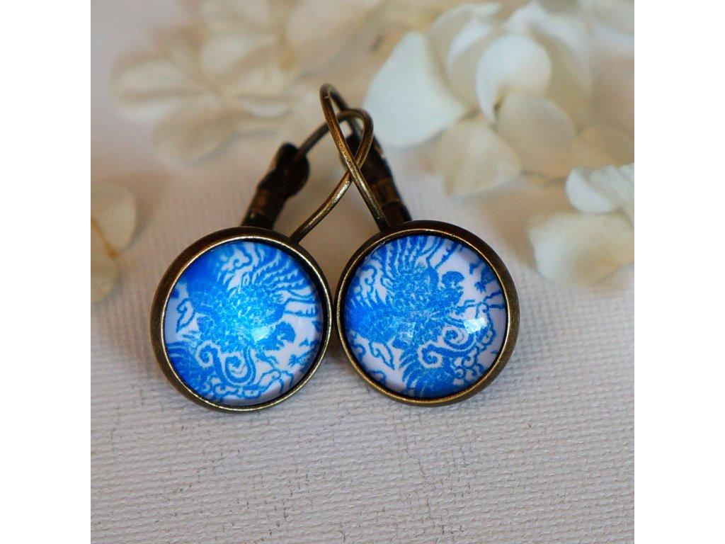 Náušnice s ornamenty 12 mm