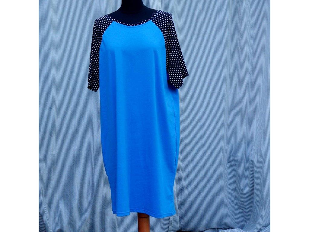 šaty -úplet - (48)