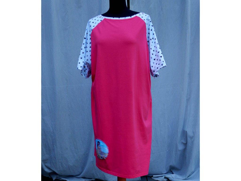 šaty -úplet - (50)
