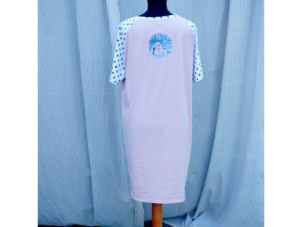 šaty -úplet - (46)