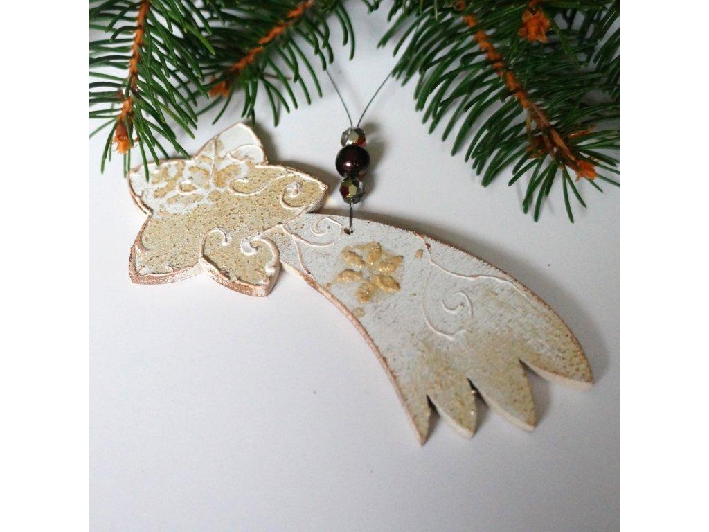 Vánoční ozdoba - Kometa