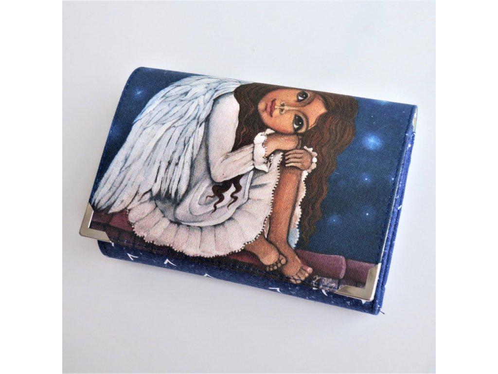 Peněženka Žofka - andělka co nemůže spát -  menší