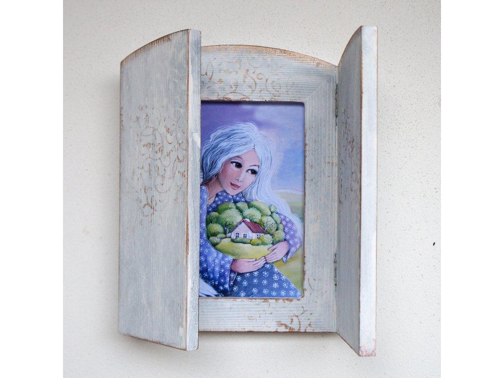 Otevírací obrázek - Andělka co chrání domov