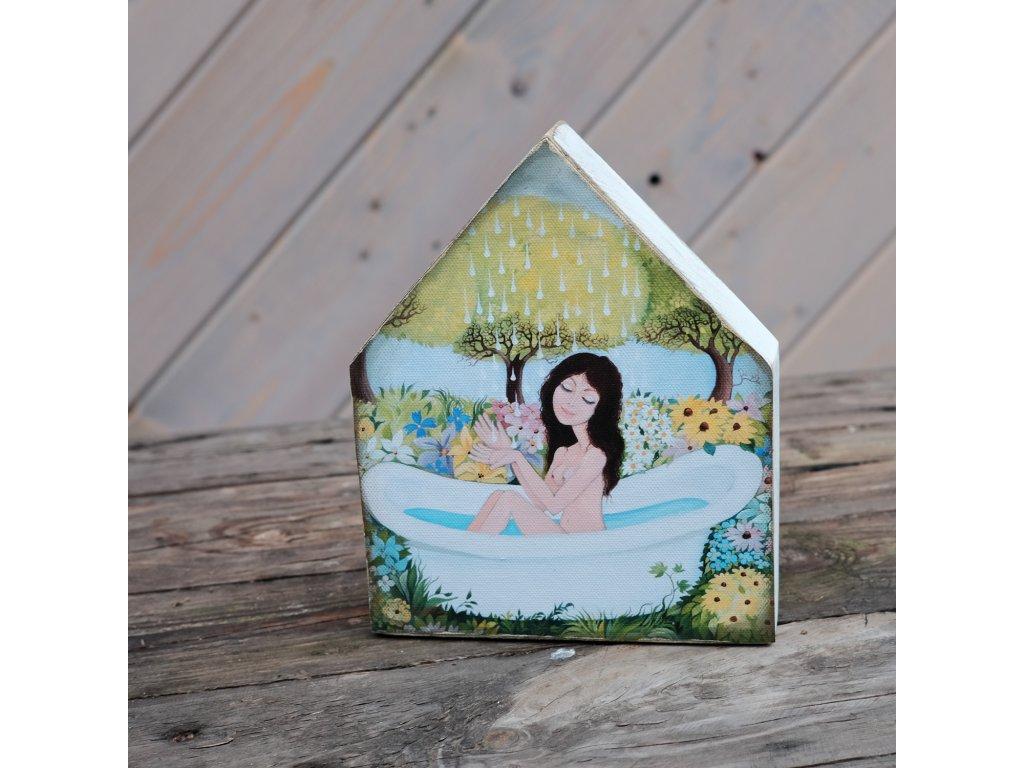 Domeček - Nejkrásnějsí koupelna
