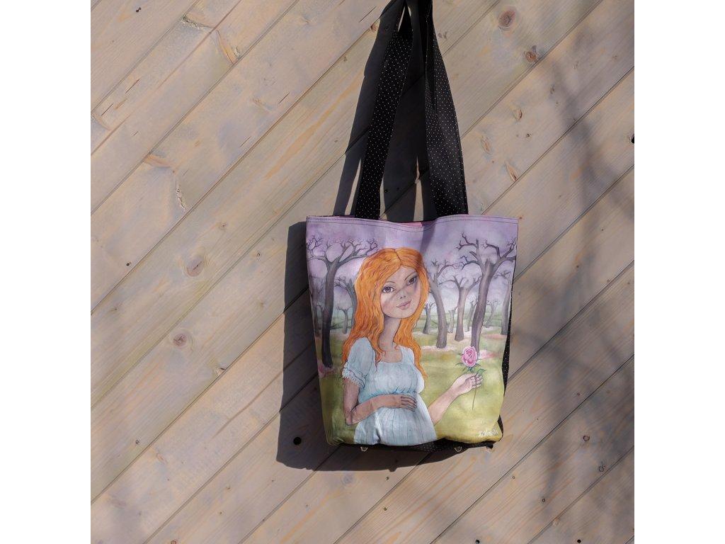 Jarní Zrzka - velká taška
