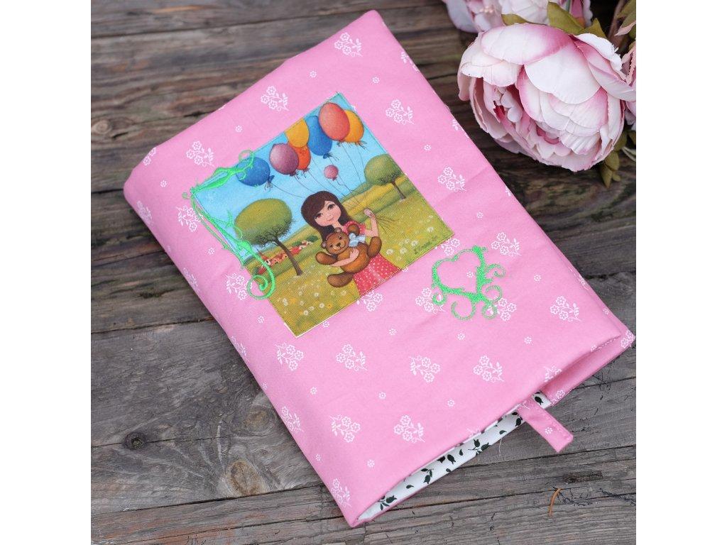 Mám medvěda a balonky -  obal na knížku