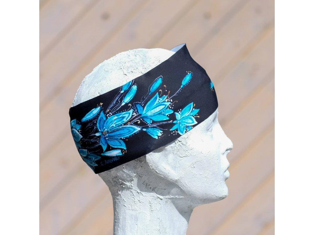 Designová elastická čelenka