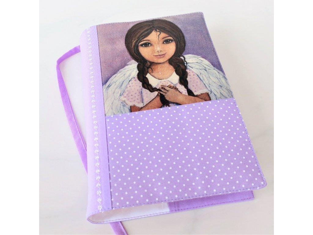 Andělka copatá -  obal na knížku