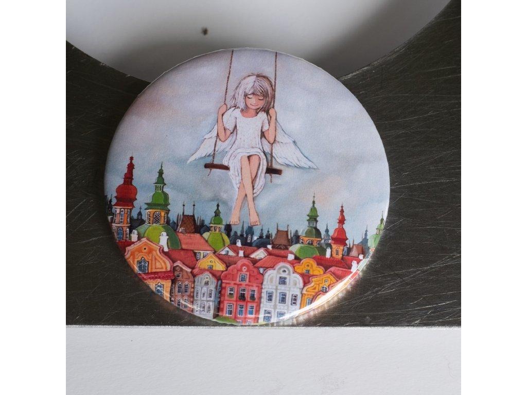 Andělka pro malé radosti - magnet