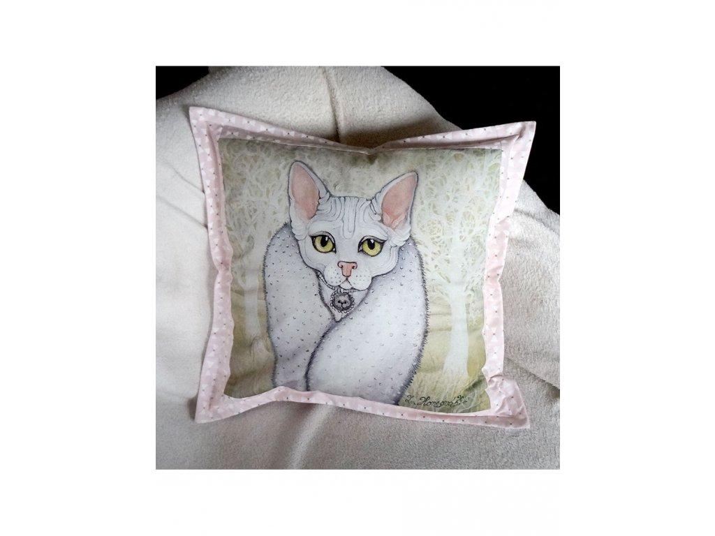 Maja - polštář 50 x 50 cm bavlna