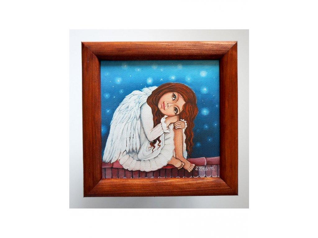 Andělka co nemůže spát