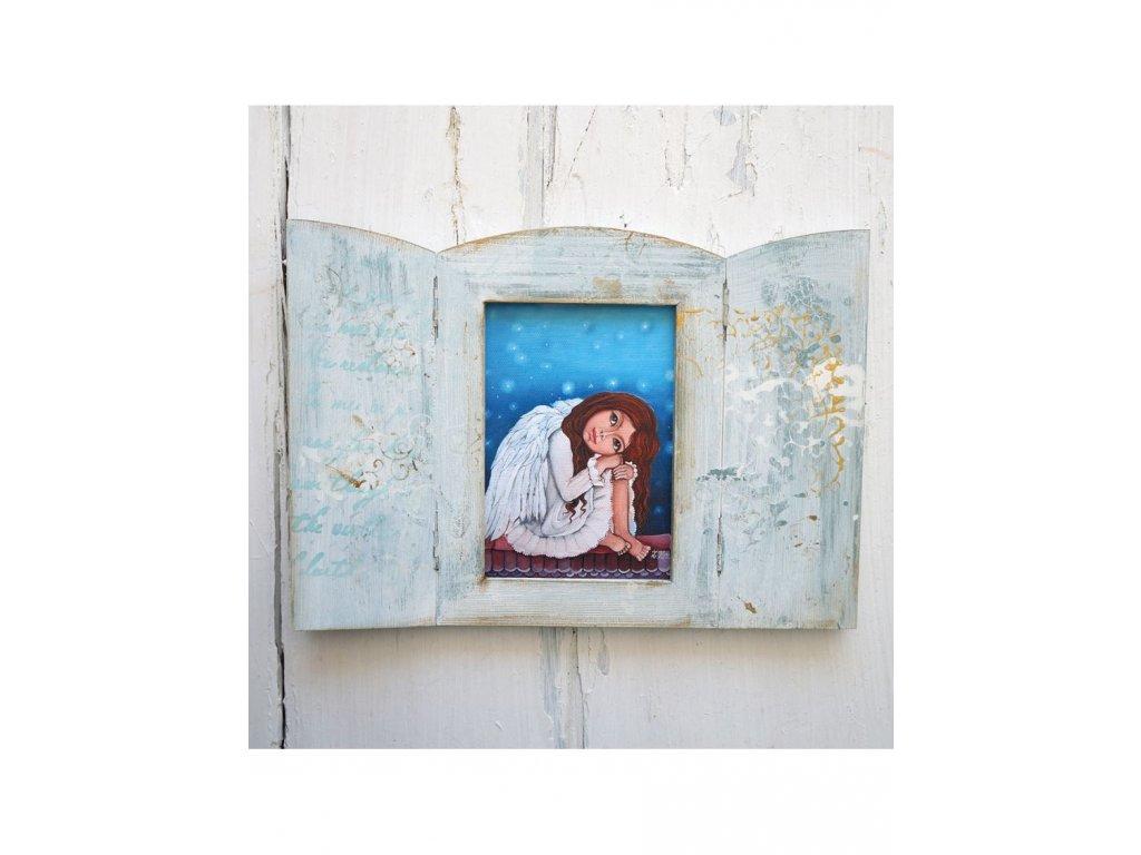 Otevírací obrázek - Andělka  Žofka co nemůže spát
