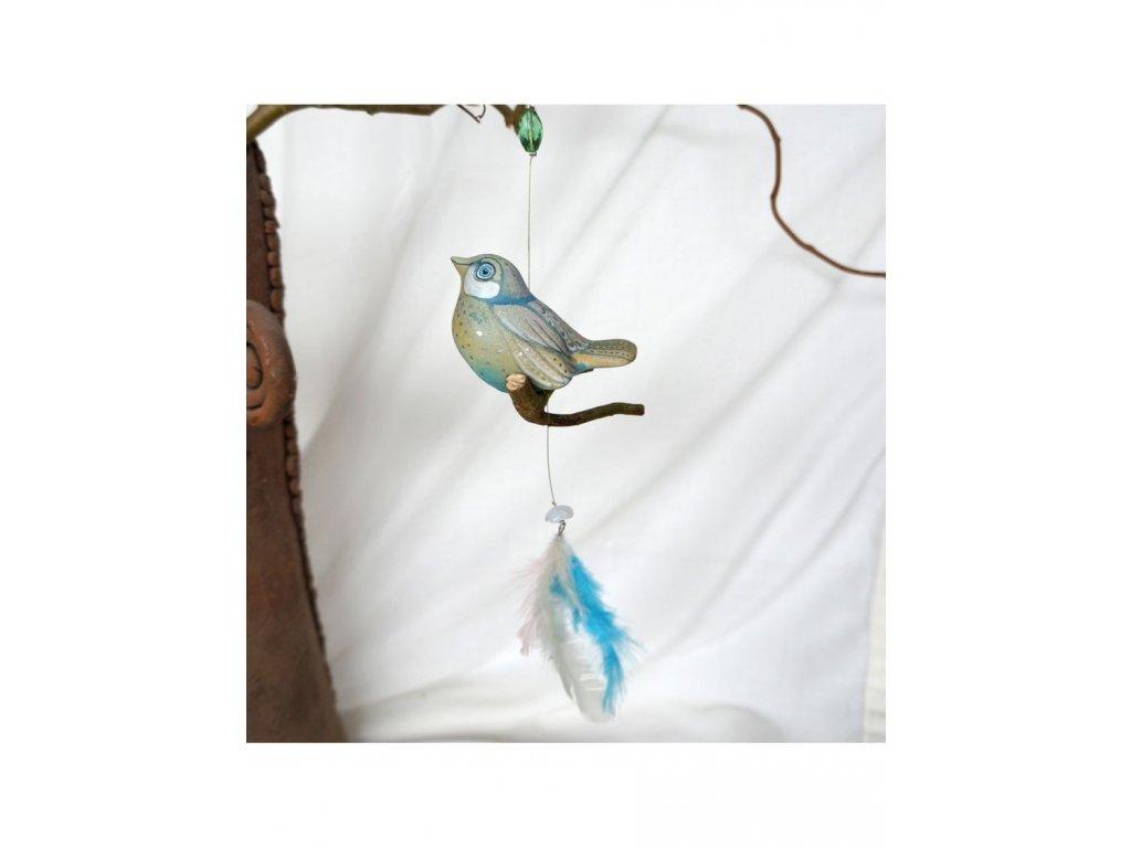 Malovaný ptáček č. 10