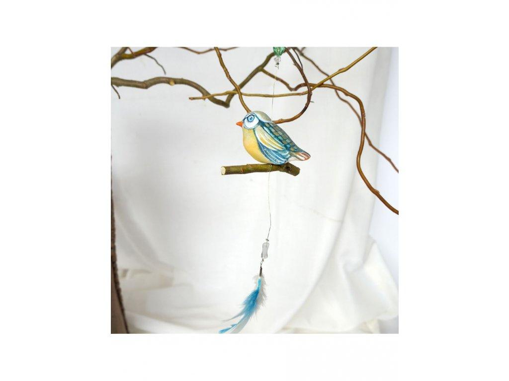 Malované ptáčátko č.25