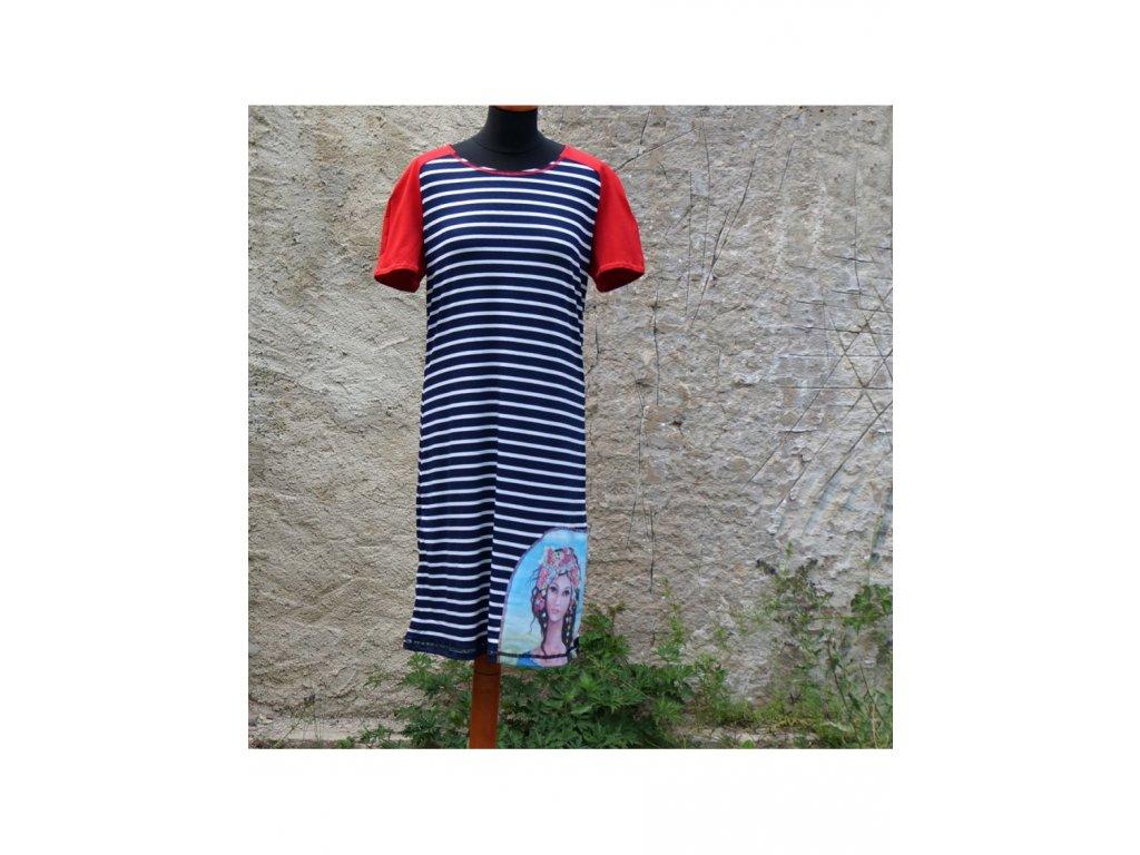 šaty -úplet - Naděje (42)