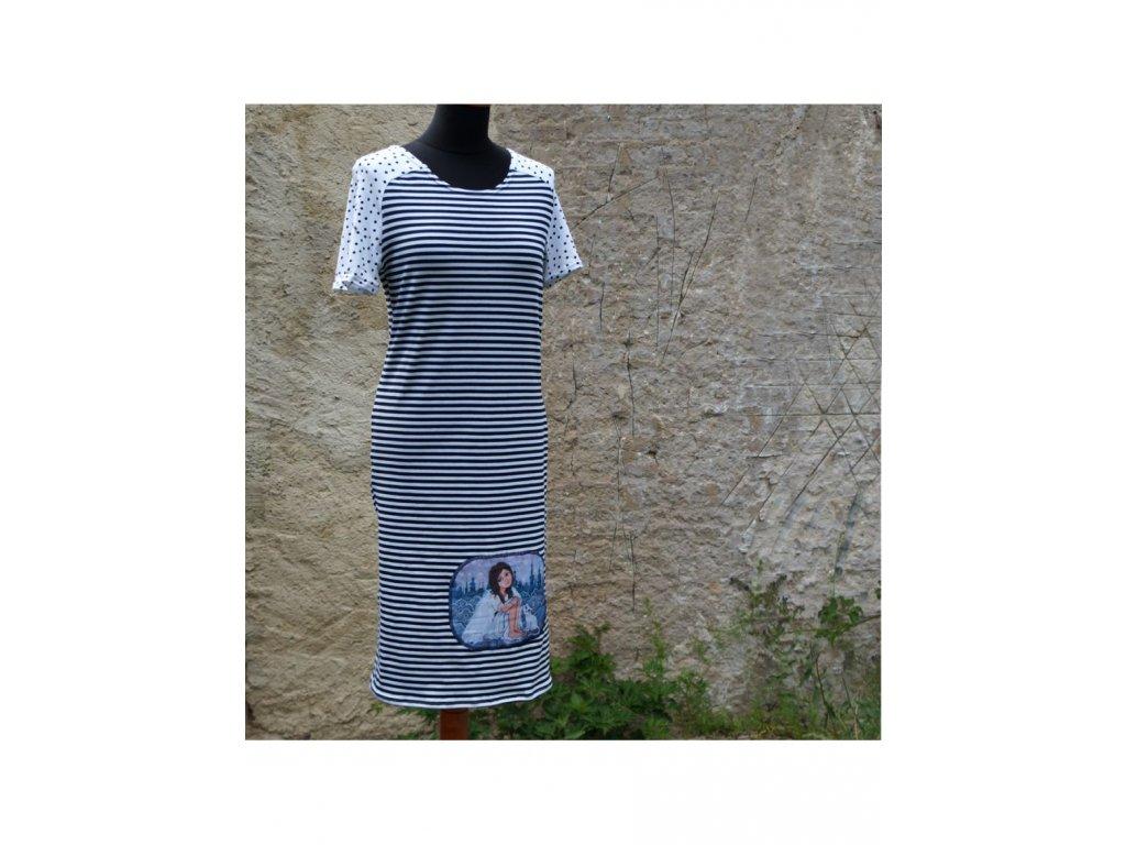 šaty -úplet -Andělka s kočičkou (38)