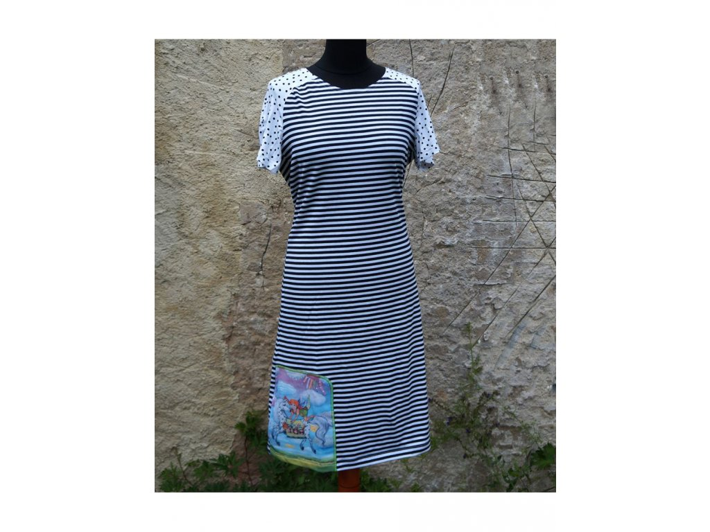 Šaty - Být jako Pipi (40)